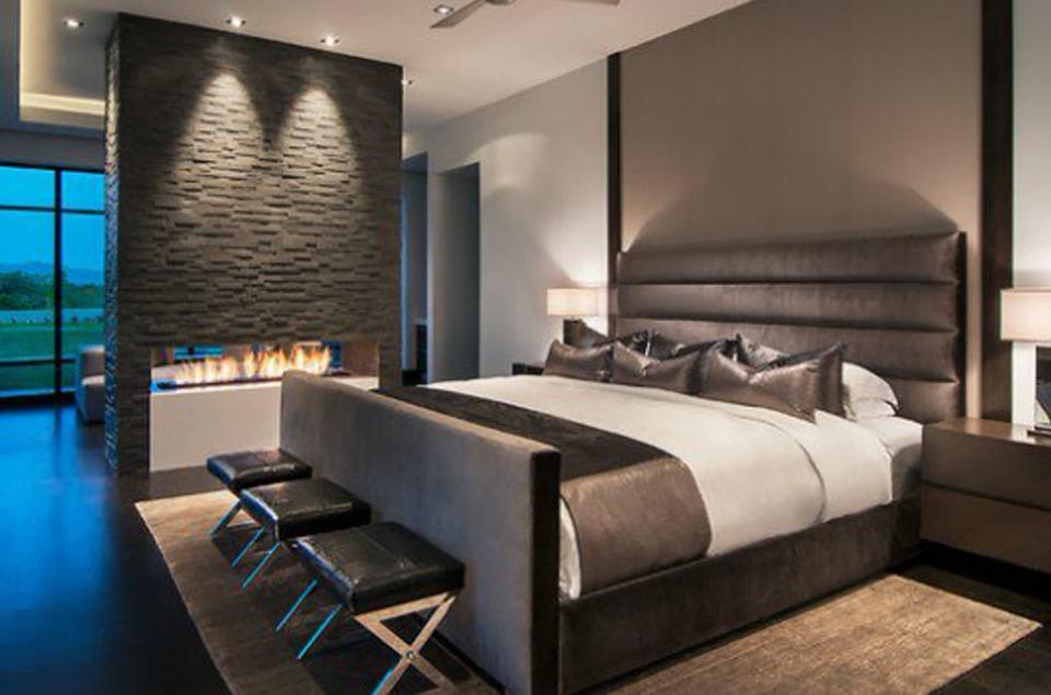 Cabina Armadio In Camera Da Letto : Progetto camera da letto con bagno e cabina armadio contemporary