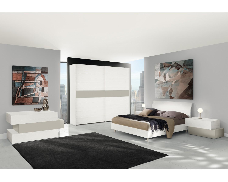 Comò Camera Da Letto Moderna : Camera da letto completa matrimoniale moderna letto como armadio